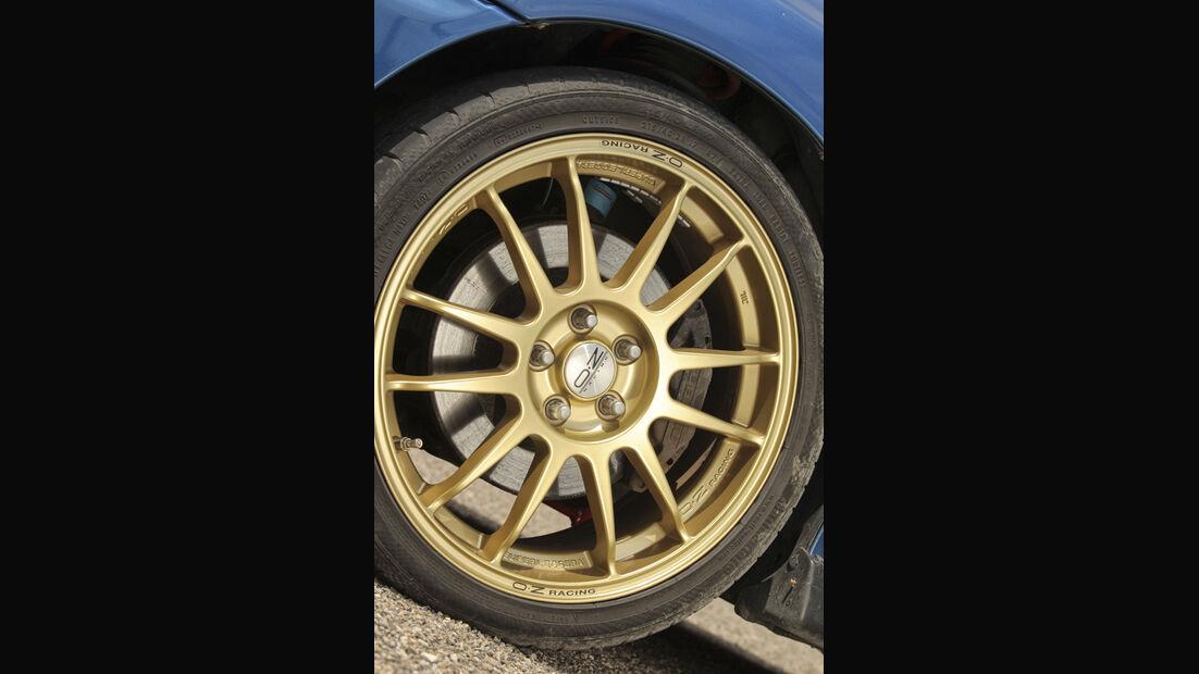 Subaru Impreza GT, Felge