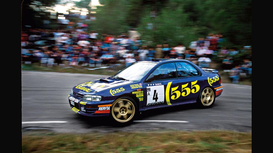 Subaru Impreza GT, Rallye