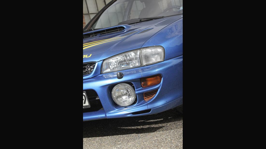 Subaru Impreza GT, Scheinwerfer, Front