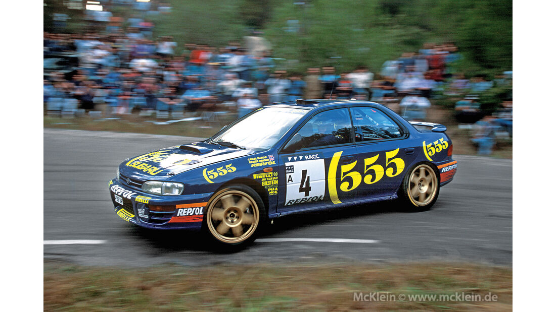 Subaru Impreza GT Turbo, Frontansicht