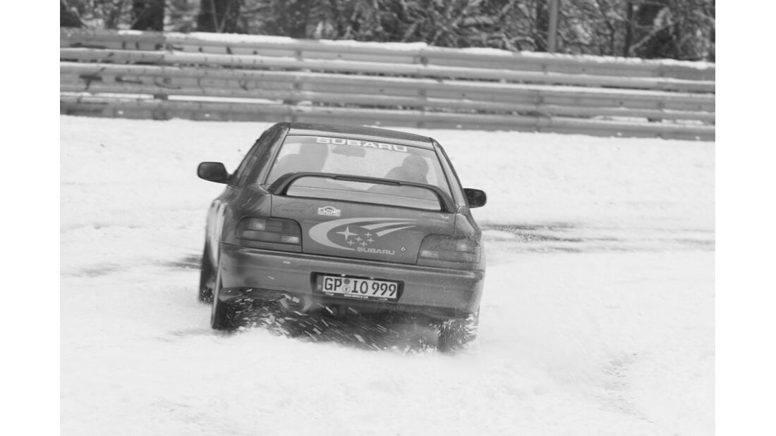 Subaru Impreza GT Turbo, Heck