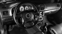 Subaru Impreza GT Turbo, Lenkrad, Cockpit, Drehzahlmesser