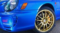 Subaru Impreza, Rad, Felge, Bremse