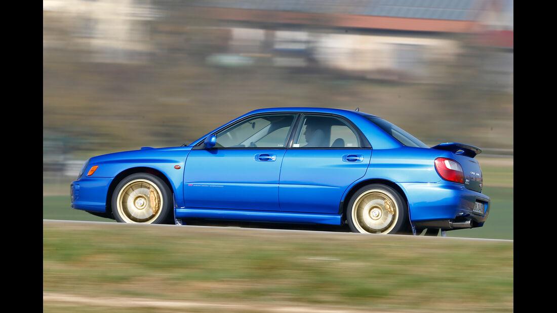 Subaru Impreza, Seitenansicht