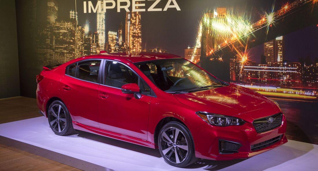 Subaru Impreza Teaser New York 2016