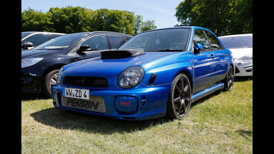 Subaru Impreza WRX STI - Fan-Autos - 24h-Rennen Nürburgring 2017 - Nordschleife
