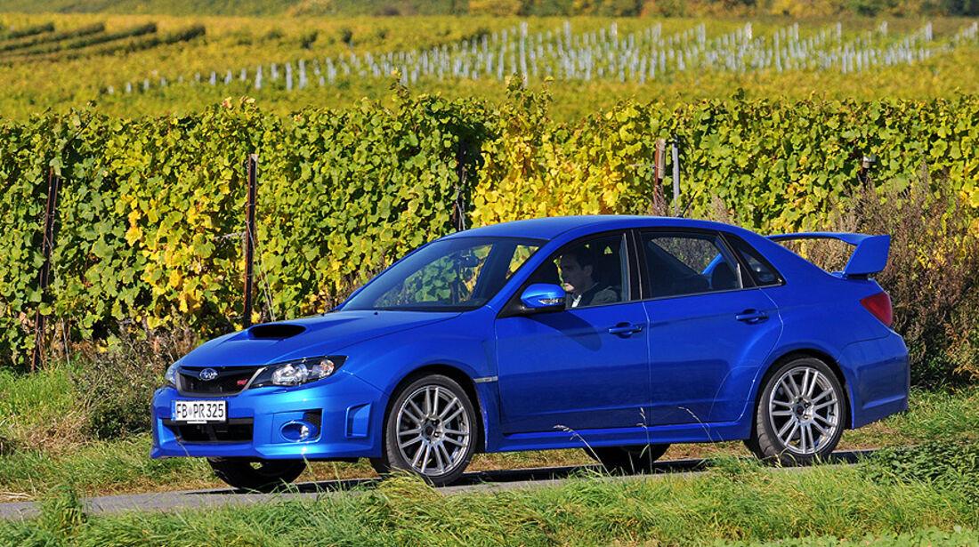 Subaru Impreza WRX STI Stufenhecklimousine