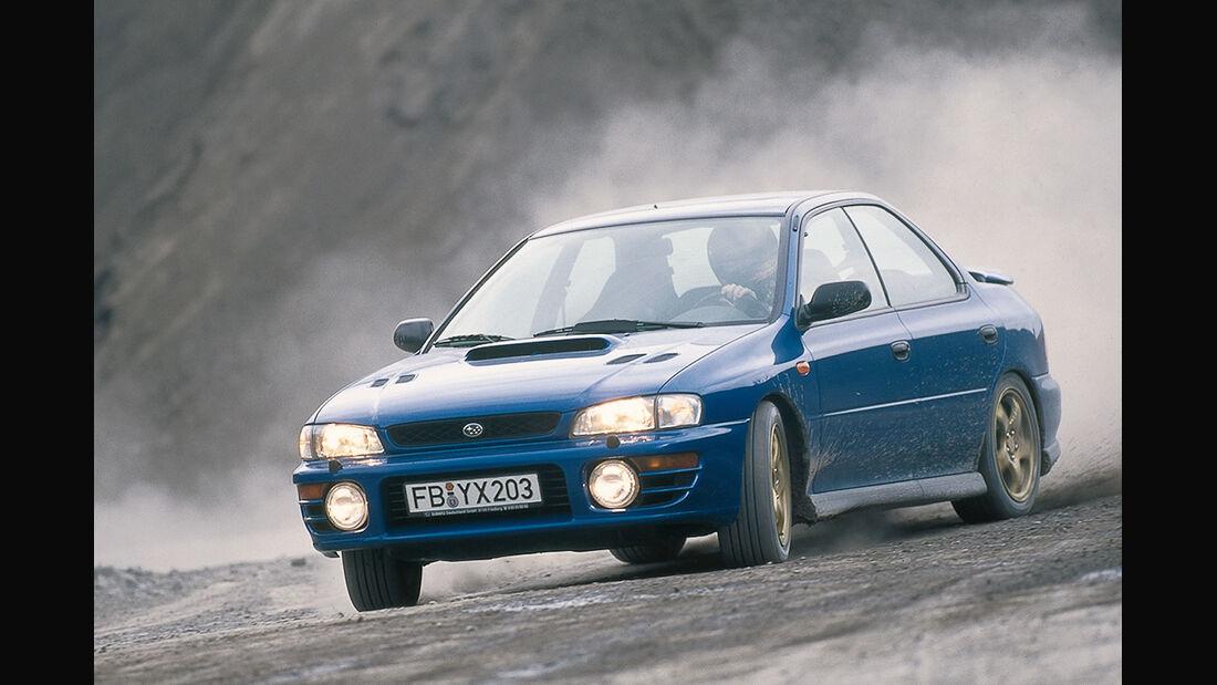 Subaru Impreza WRX STi , Frontansicht