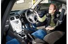 Subaru Impreza WRX Sti, Cockpit, Rechtslenker