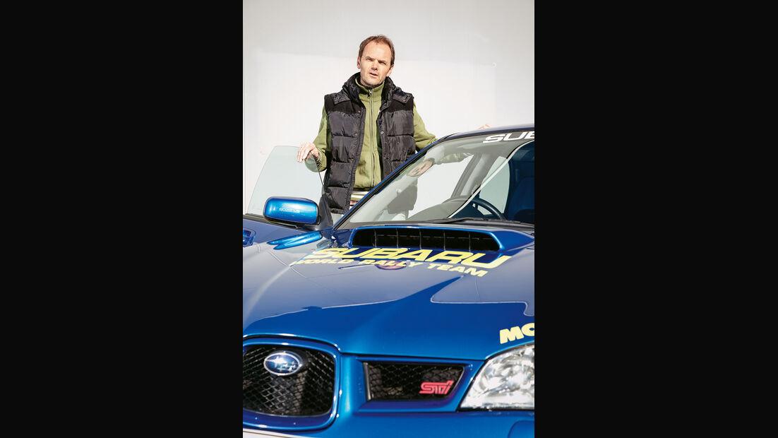 Subaru Impreza WRX Sti, Front, Motorhaube