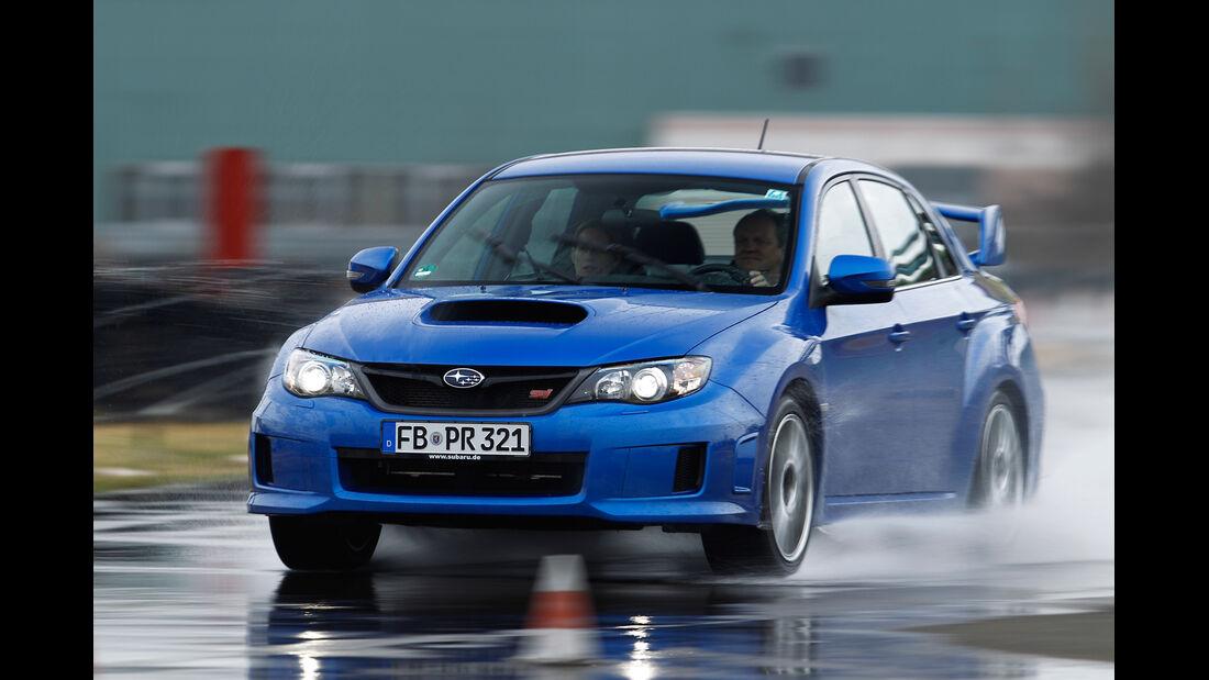 Subaru Impreza WRX Sti, Frontansicht