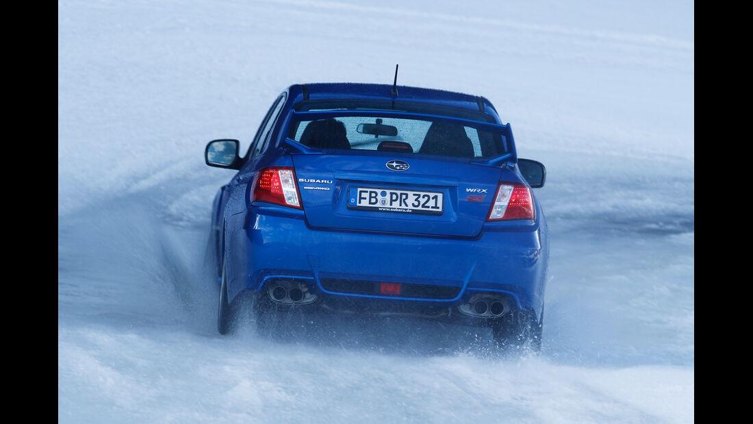 Subaru Impreza WRX Sti, Heckansicht