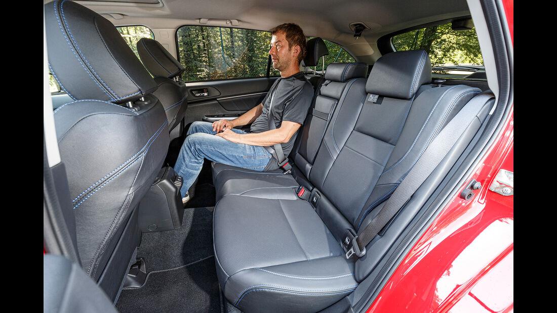 Subaru Levorg 2.0i, Interieur