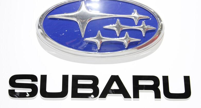 Subaru Markenlogo, Autosalon Genf 2012, Messe