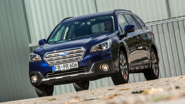 Subaru Outback 2.0D, Frontansicht