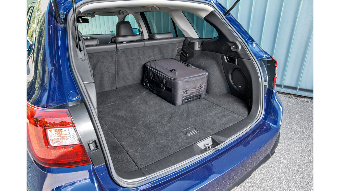 Subaru Outback 2.0D, Kofferraum
