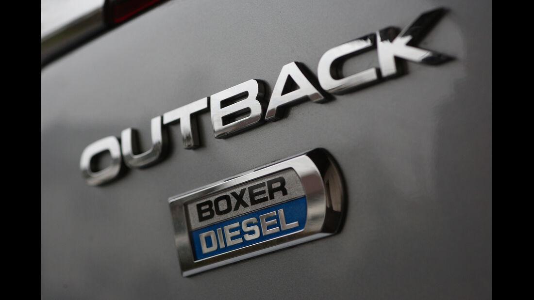 Subaru Outback 2.0D, Typenbezeichnung