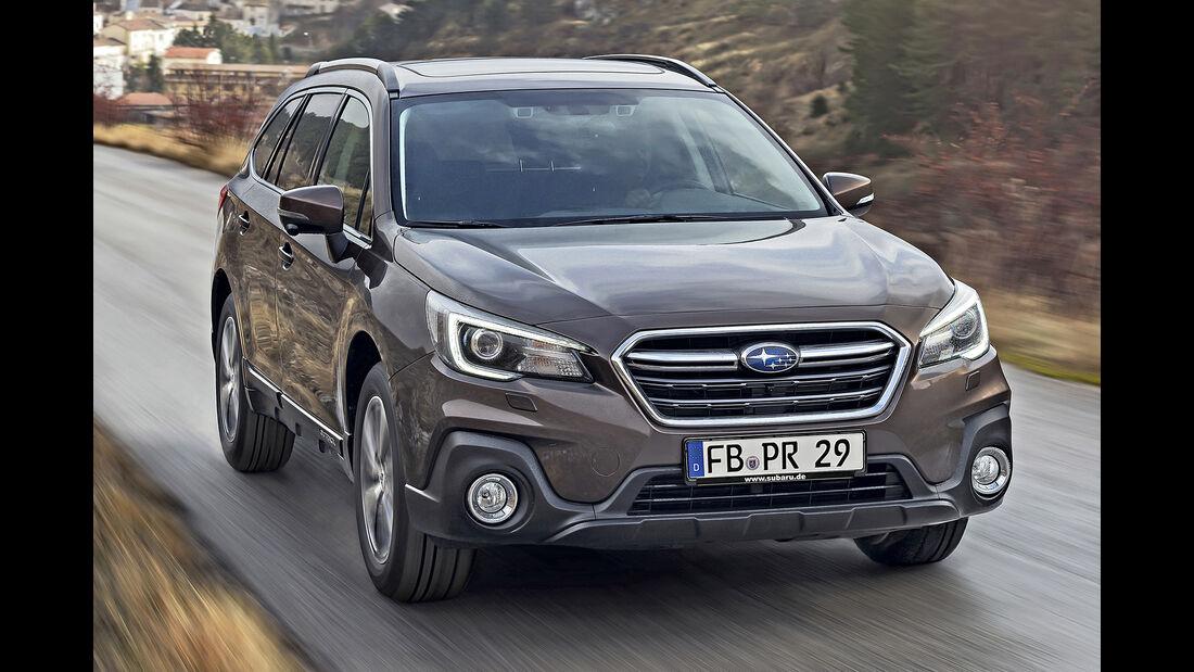 Subaru Outback, Best Cars 2020, Kategorie D Mittelklasse