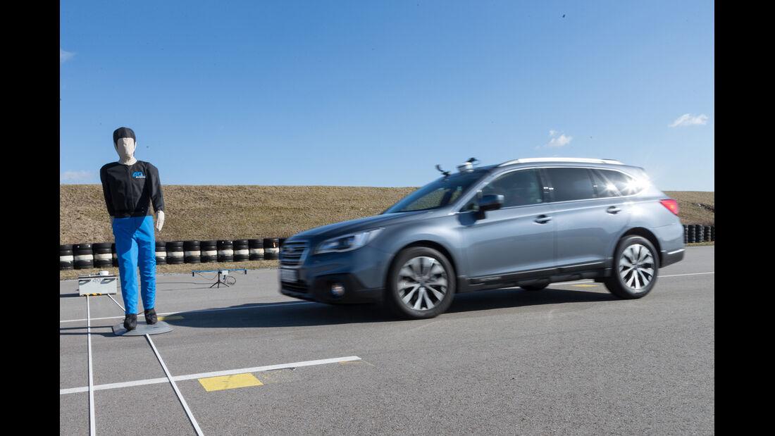 Subaru Outback, Test, Dummy