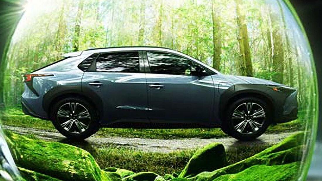 Subaru Solterra Teaser