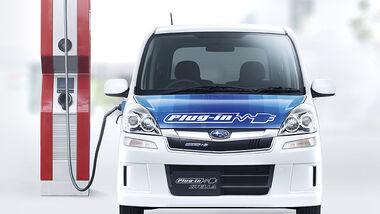 Subaru Stella Plug-in-Elektrofahrzeug