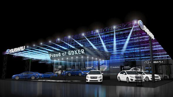 Subaru Tokyo Auto Salon