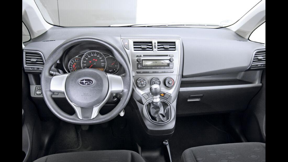 Subaru Trezia 1.3i Active, Cockpit