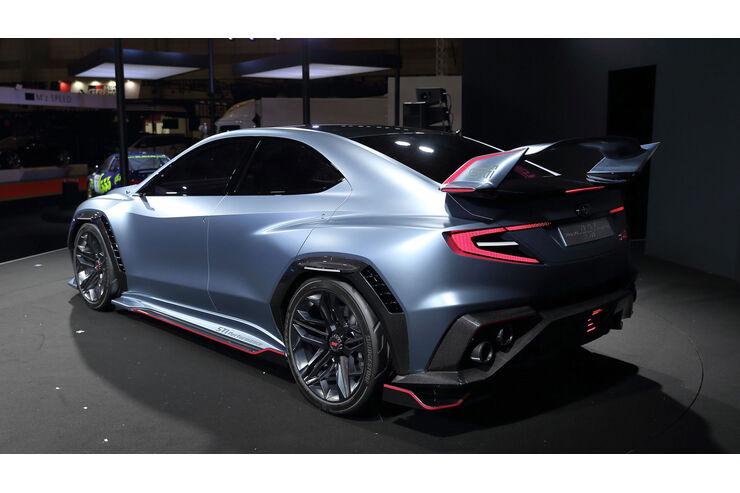 Neuer Subaru Wrx Sti 2021 Mit 400 Ps Boxer Auto Motor Und Sport