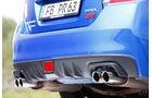 Subaru WRX STI, Auspuff, Endrohr