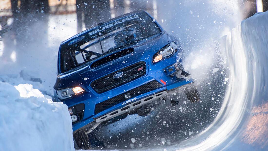 Subaru WRX STI Bobbahn St. Moritz