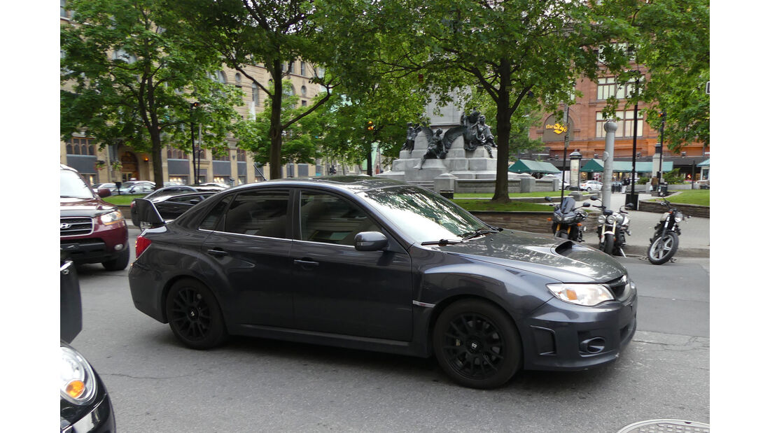 Subaru WRX STI - Carspotting - GP Kanada 2016 - Montreal