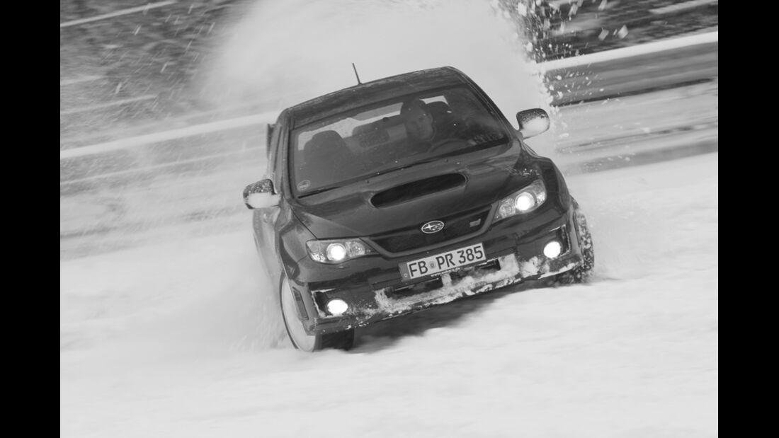 Subaru WRX STI, Front