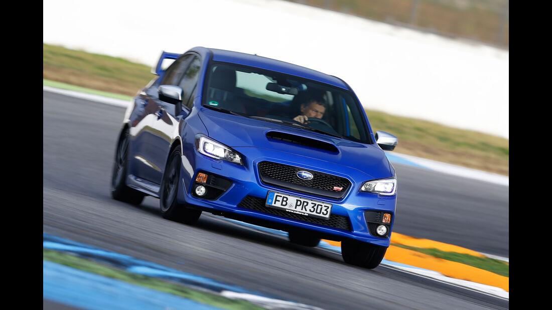 Subaru WRX STI, Frontansicht