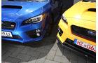Subaru WRX STI, Frontscheinwerfer