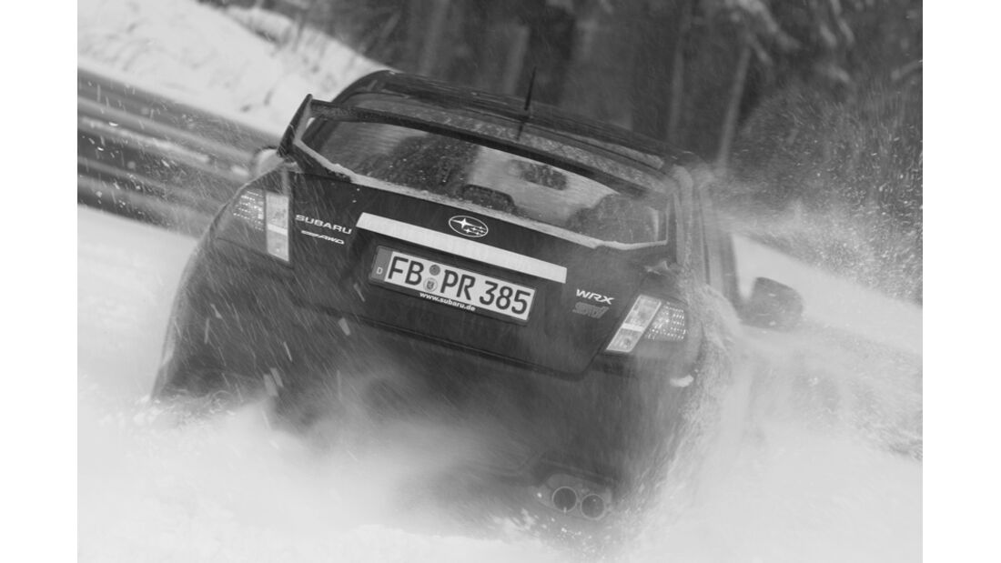 Subaru WRX STI, Heck