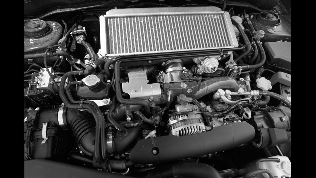 Subaru WRX STI, Motor