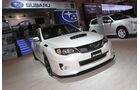 Subaru WRX STI S206 auf der Essen Motor Show 2012.