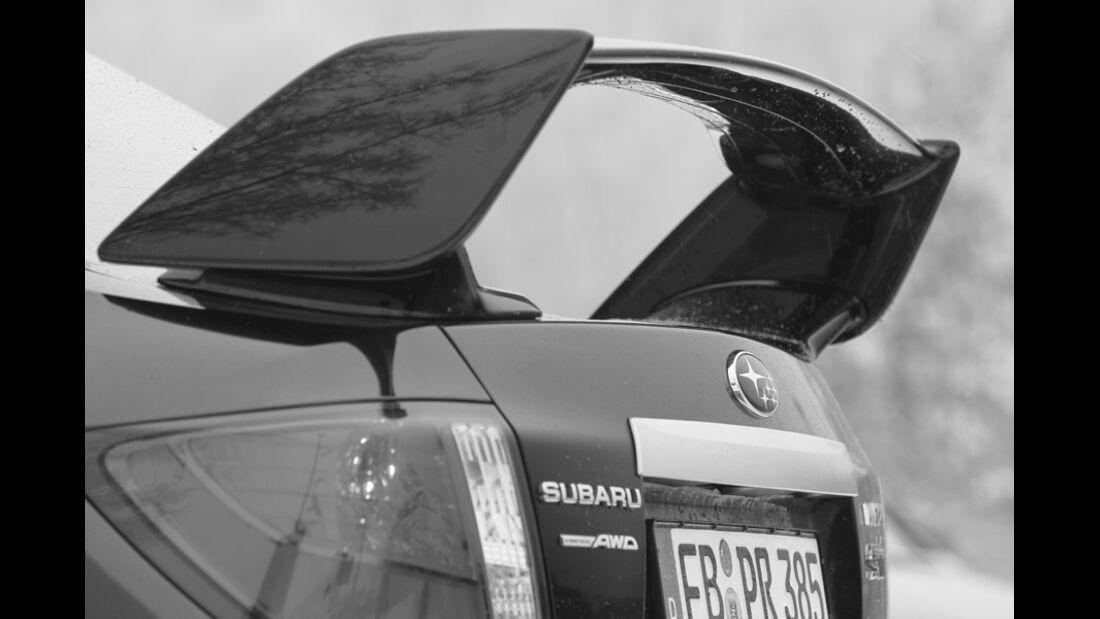 Subaru WRX STI, Spoiler