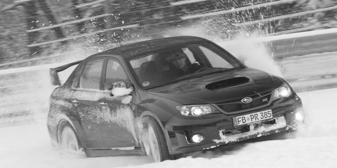 Subaru Impreza WRX STI und GT Turbo auf der Nordschleife im