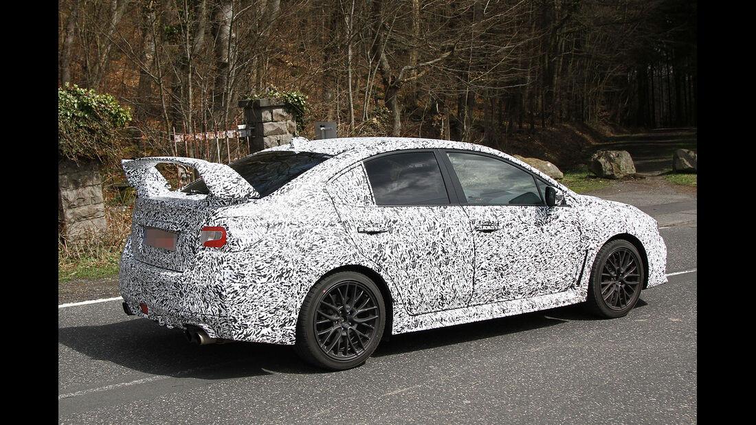 Subaru WRX STi Erlkönig