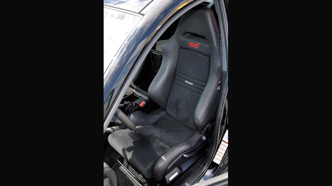 Subaru WRX STi, Fahrersitz, Recaro