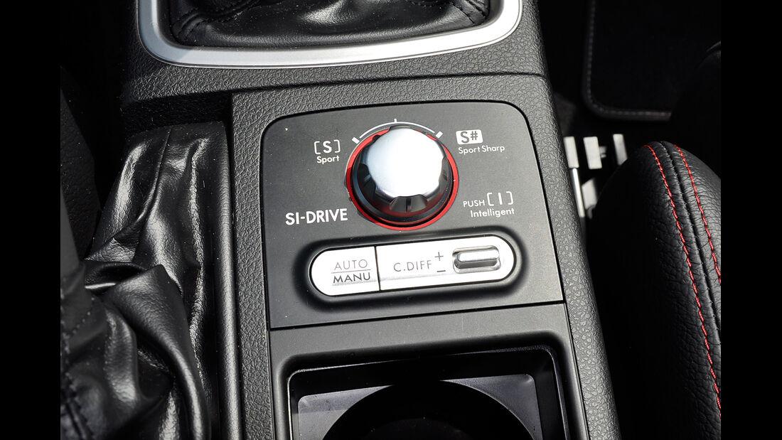 Subaru WRX STi, Fahrwerkeinstellung