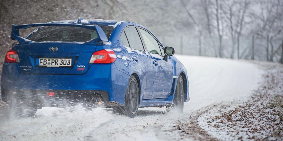 Subaru WRX STi, Heckansicht