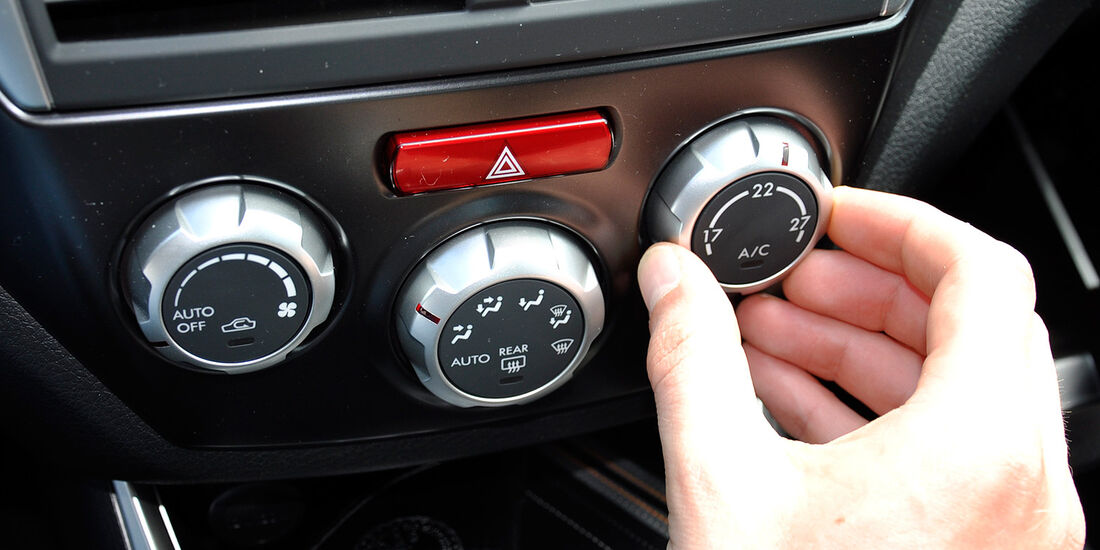 Subaru WRX STi, Klimaanlage