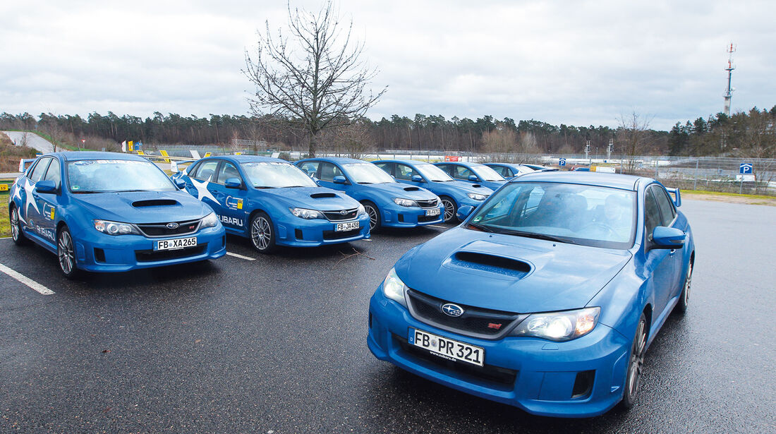 Subaru WRX Sti, Mehrere fahrzeuge