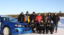 Subaru Wintertrainig Finnland