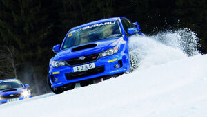 Subaru Wintertraining
