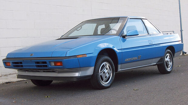 Subaru XT, Japanische Trendsetter
