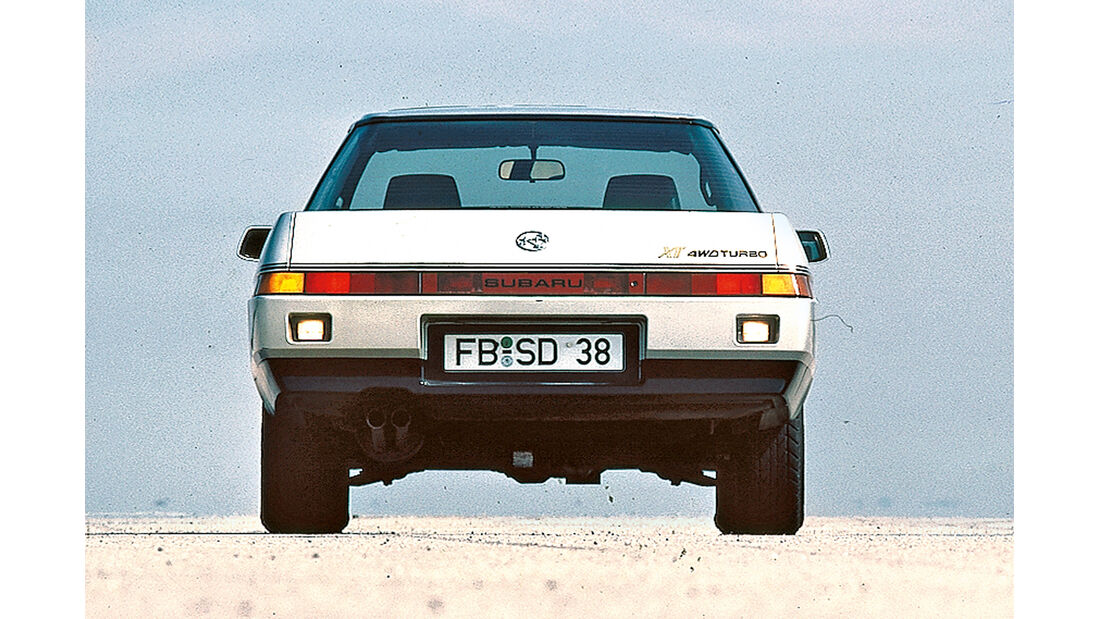 Subaru XT Turbo, Frontansicht