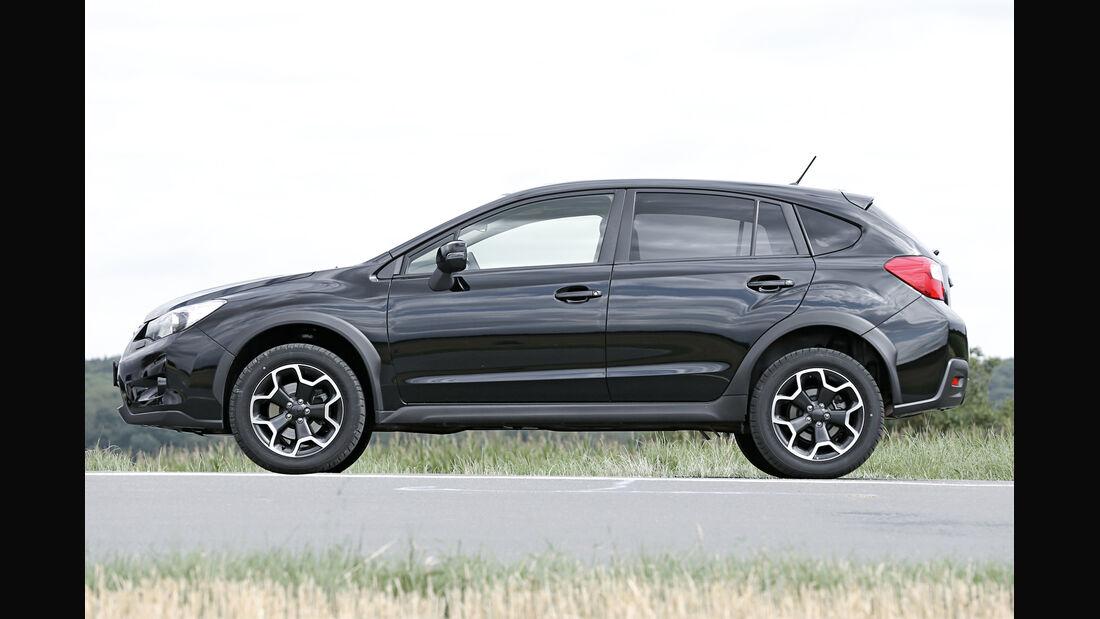 Subaru XV 2.0D Exclusive, Seitenansicht